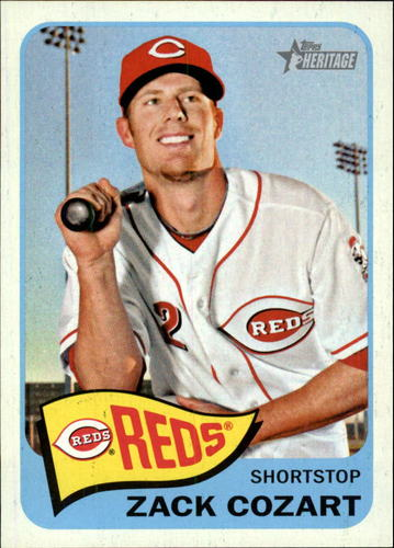 Photo of 2014 Topps Heritage #339 Zack Cozart