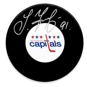 Sergei Fedorov Washington Capitals Autographed Puck