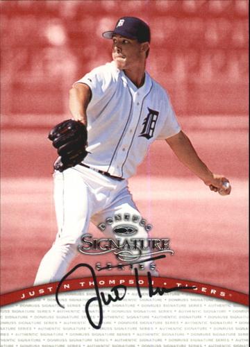 Photo of 1997 Donruss Signature Autographs #96 Justin Thompson/2400