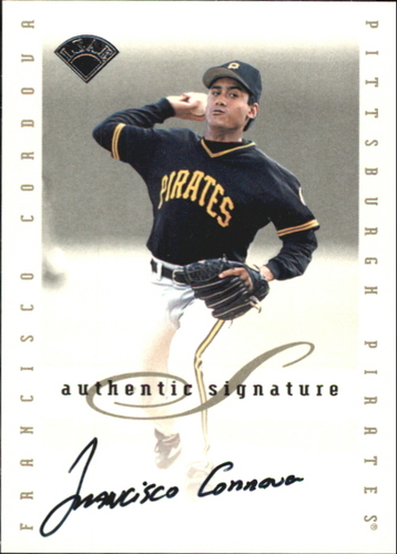 Photo of 1996 Leaf Signature Extended Autographs #35 Francisco Cordova