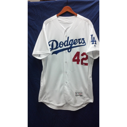 Photo of George Lombard Game-Used Jersey - 4/15/16