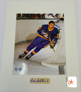 Ralph Backstrom Signature Los Angeles Kings 8x10 Custom Matted Photo