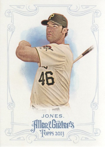 Photo of 2013 Topps Allen and Ginter #142 Garrett Jones