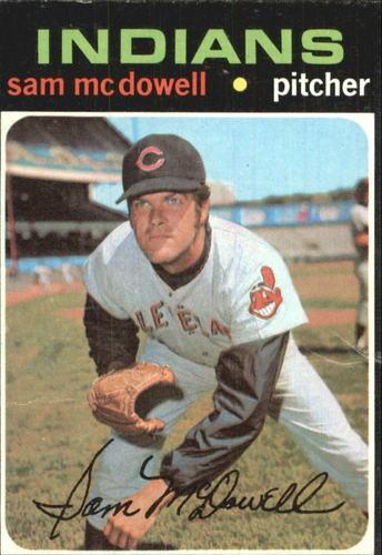 Photo of 1971 Topps #150 Sam McDowell