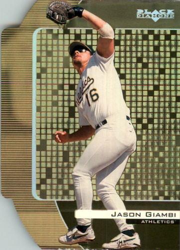 Photo of 2000 Black Diamond Final Cut #63 Jason Giambi
