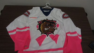 AHL PINK IN THE RINK JERSEY