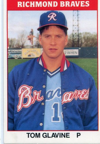 Photo of 1987 Richmond Braves TCMA #5 Tom Glavine