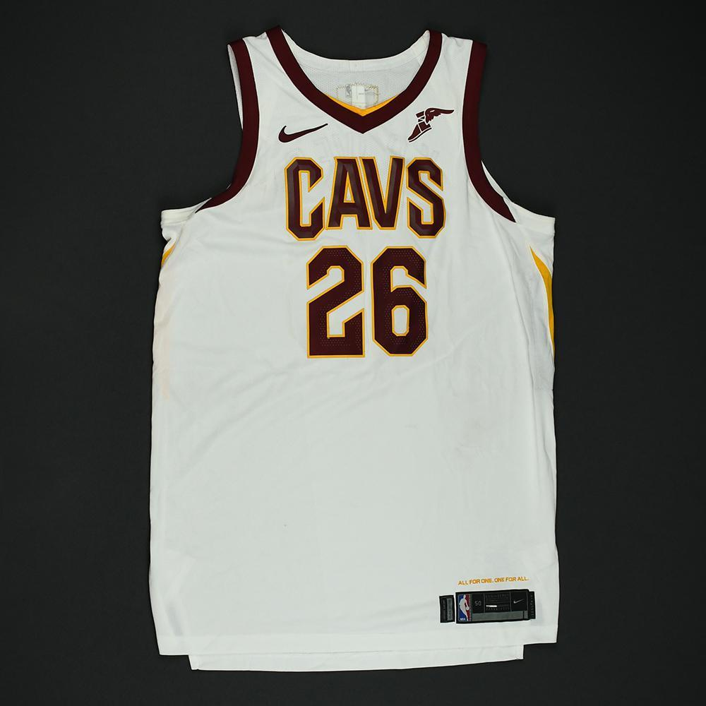 Kyle Korver - Cleveland Cavaliers - 2018 NBA Finals - Game 2 - Game-Worn White Jersey