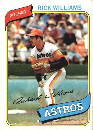 Photo of 1980 Topps #69 Rick Williams