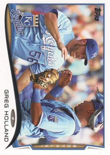Photo of 2014 Topps #617 Greg Holland
