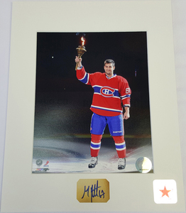 Max Pacioretty Signature Montreal Canadiens TORCH 8x10 Custom Matted Photo