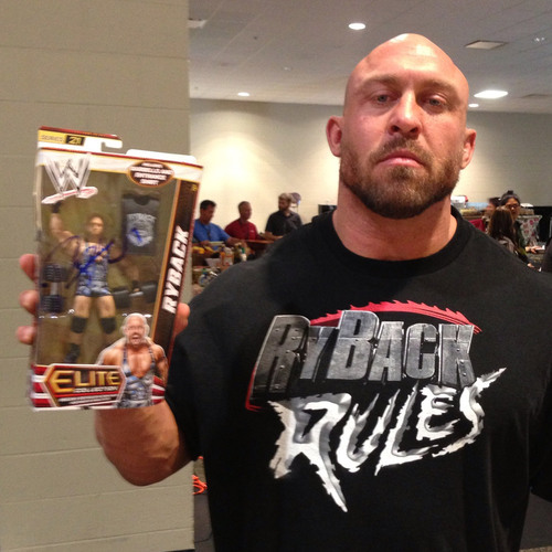 Ryback SIGNED Mattel Elite Series 21 Action Figure