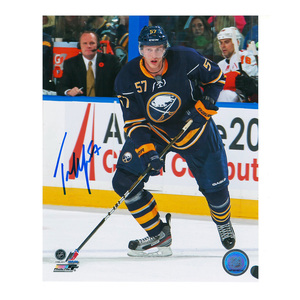 TYLER MYERS Signed Buffalo Sabres 8 X 10 Photo -70448
