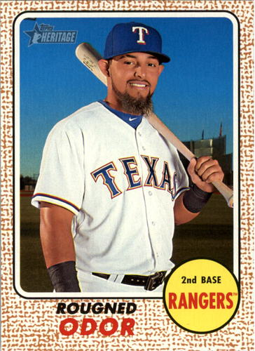 Photo of 2017 Topps Heritage #17 Rougned Odor