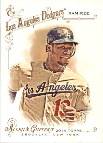 Photo of 2014 Topps Allen and Ginter #290 Hanley Ramirez