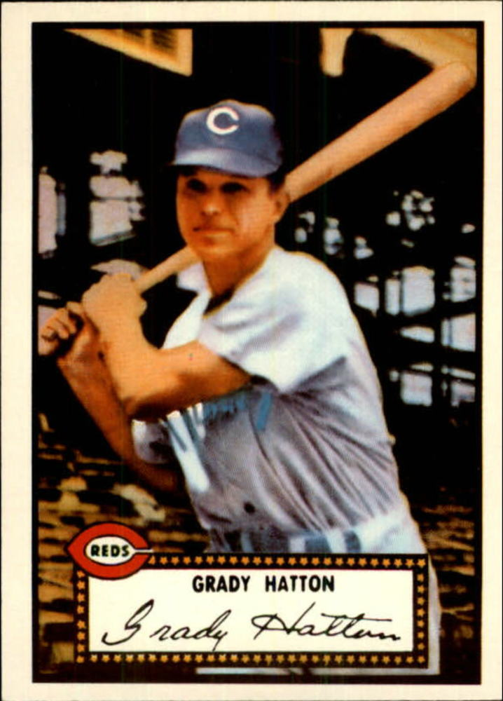 1983 Topps 1952 Reprint #6 Grady Hatton