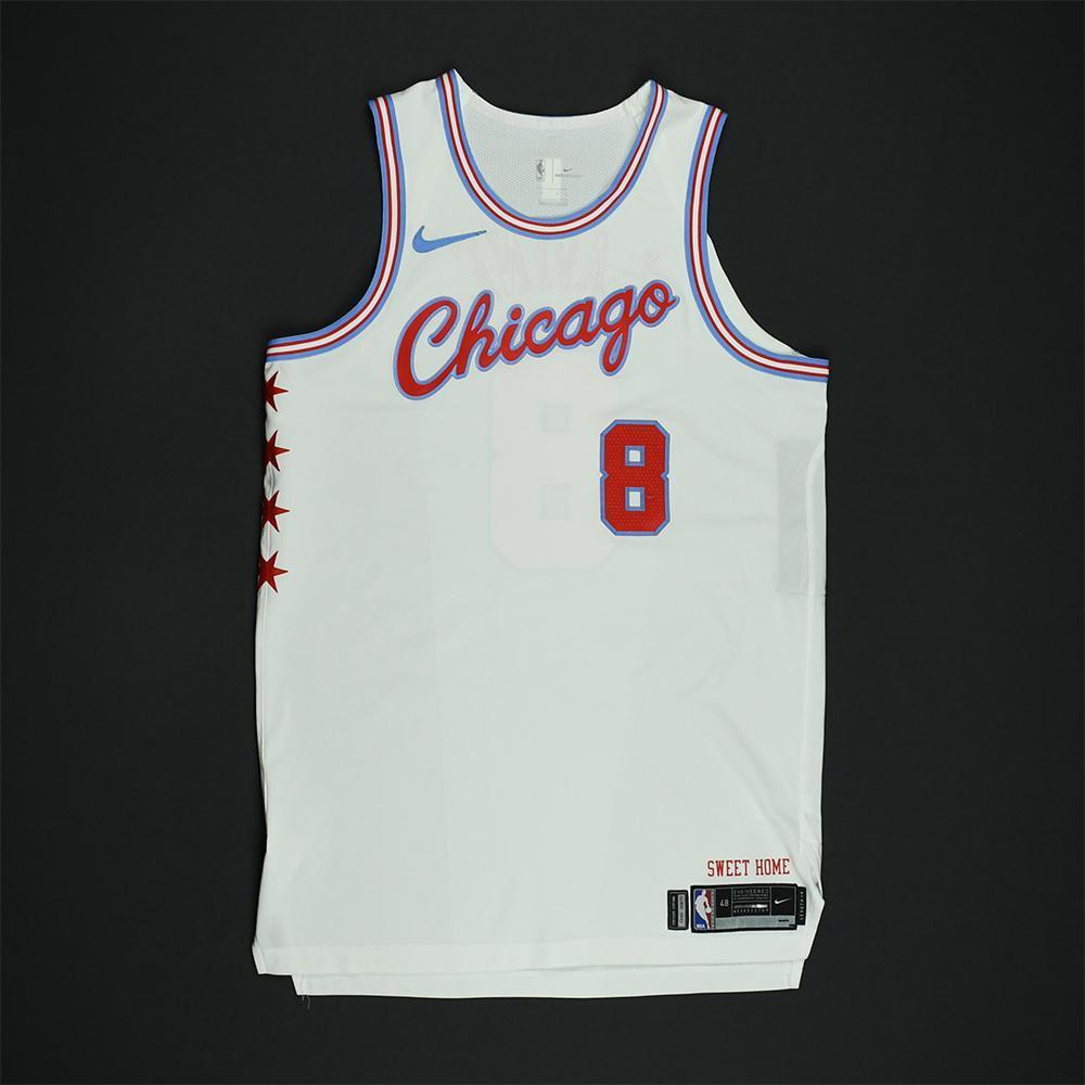 Zach LaVine - Chicago Bulls - Game-Worn 'City' Jersey - 2017-18 Season