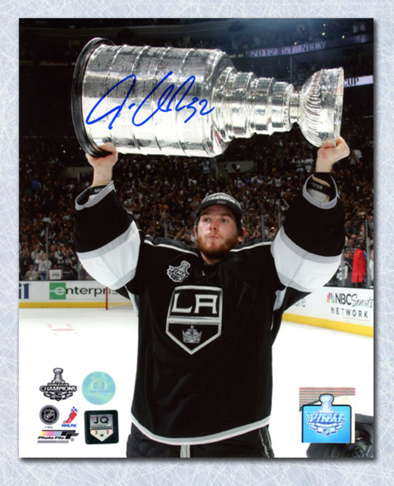 Jonathan Quick Los Angeles Kings Autographed 2012 Stanley Cup 8x10 Photo