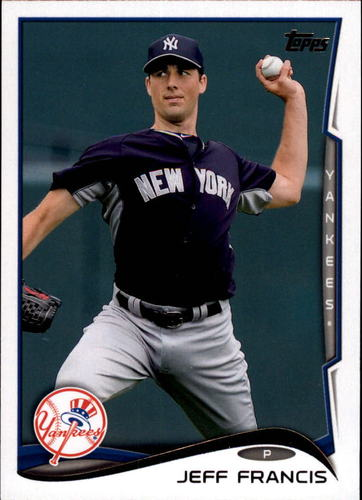 Photo of 2014 Topps Update #US114 Jeff Francis