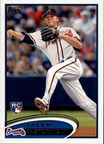 Photo of 2012 Topps #616 Tyler Pastornicky RC