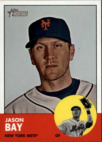 Photo of 2012 Topps Heritage #475 Jason Bay SP