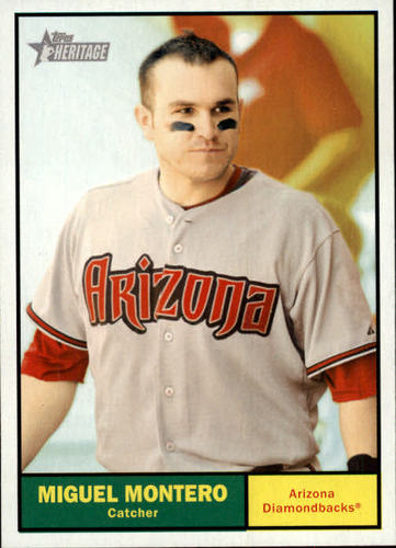 Photo of 2010 Topps Heritage #453 Miguel Montero SP