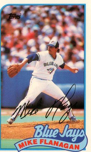 Photo of 1989 Topps Baseball Talk/LJN #108 Mike Flanagan
