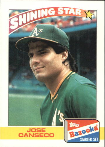 Photo of 1989 Bazooka #5 Jose Canseco