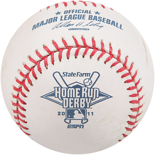 Photo of 2016 All-Star Archive Auction: 2011 Home Run Derby - Prince Fielder, Round #1, Home run #5