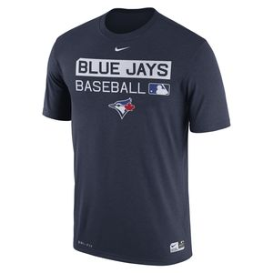 Toronto Blue Jays Authentic Collection Legend Team Issue T-Shirt Navy by Nike
