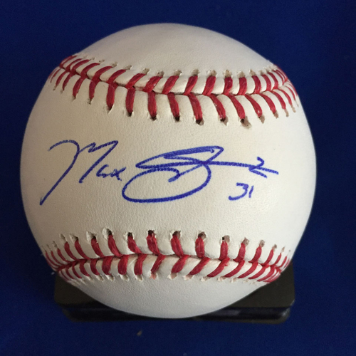 Photo of UMPS CARE AUCTION: Max Scherzer Signed Baseball