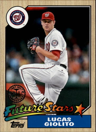 Photo of 2017 Topps '87 Topps #8783 Lucas Giolito