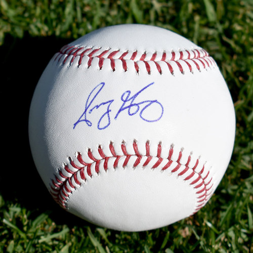 Photo of Sonny Gray Autographed Baseball
