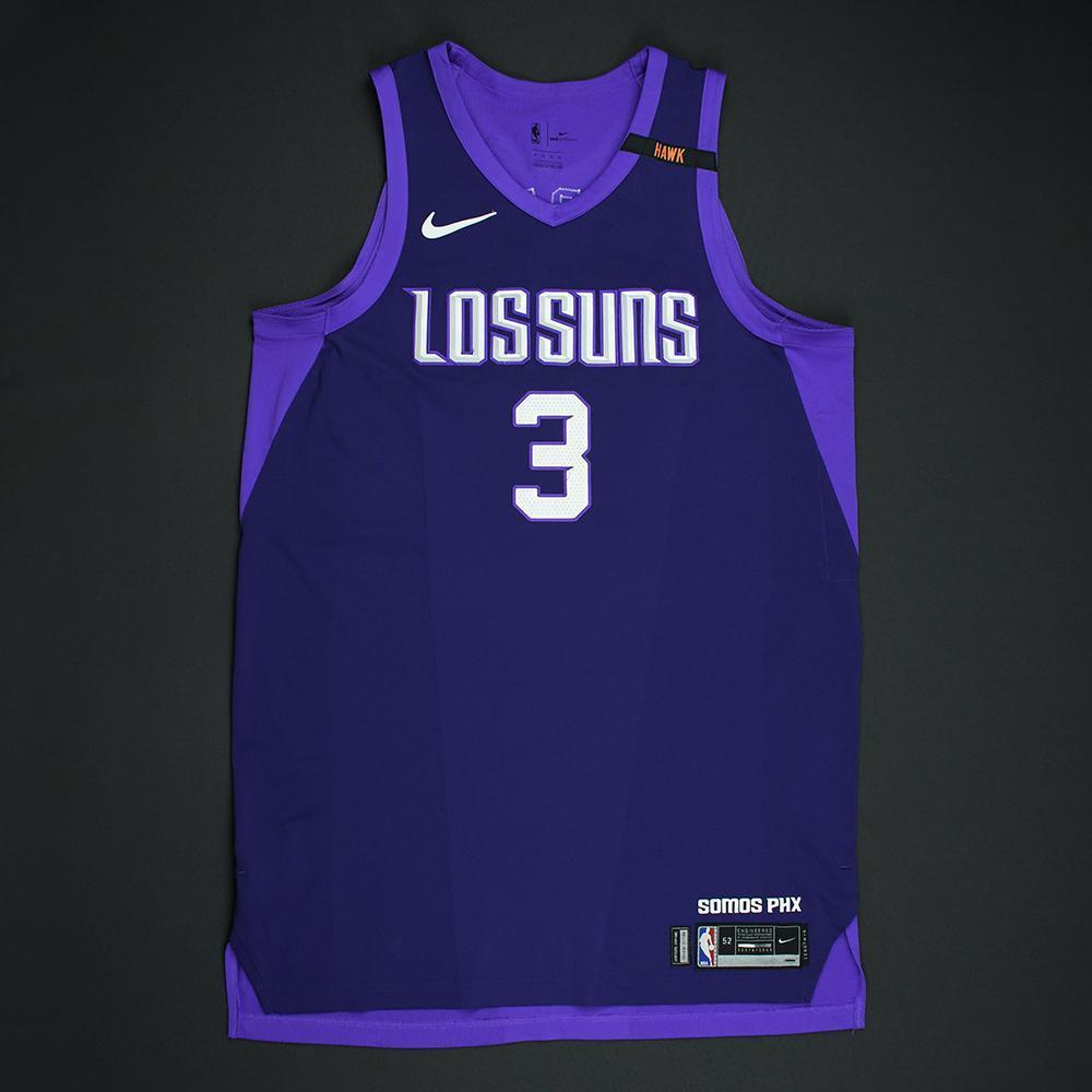 Jared Dudley - Phoenix Suns - Game-Worn 'Los Suns' City Jersey - 2017-18 Season