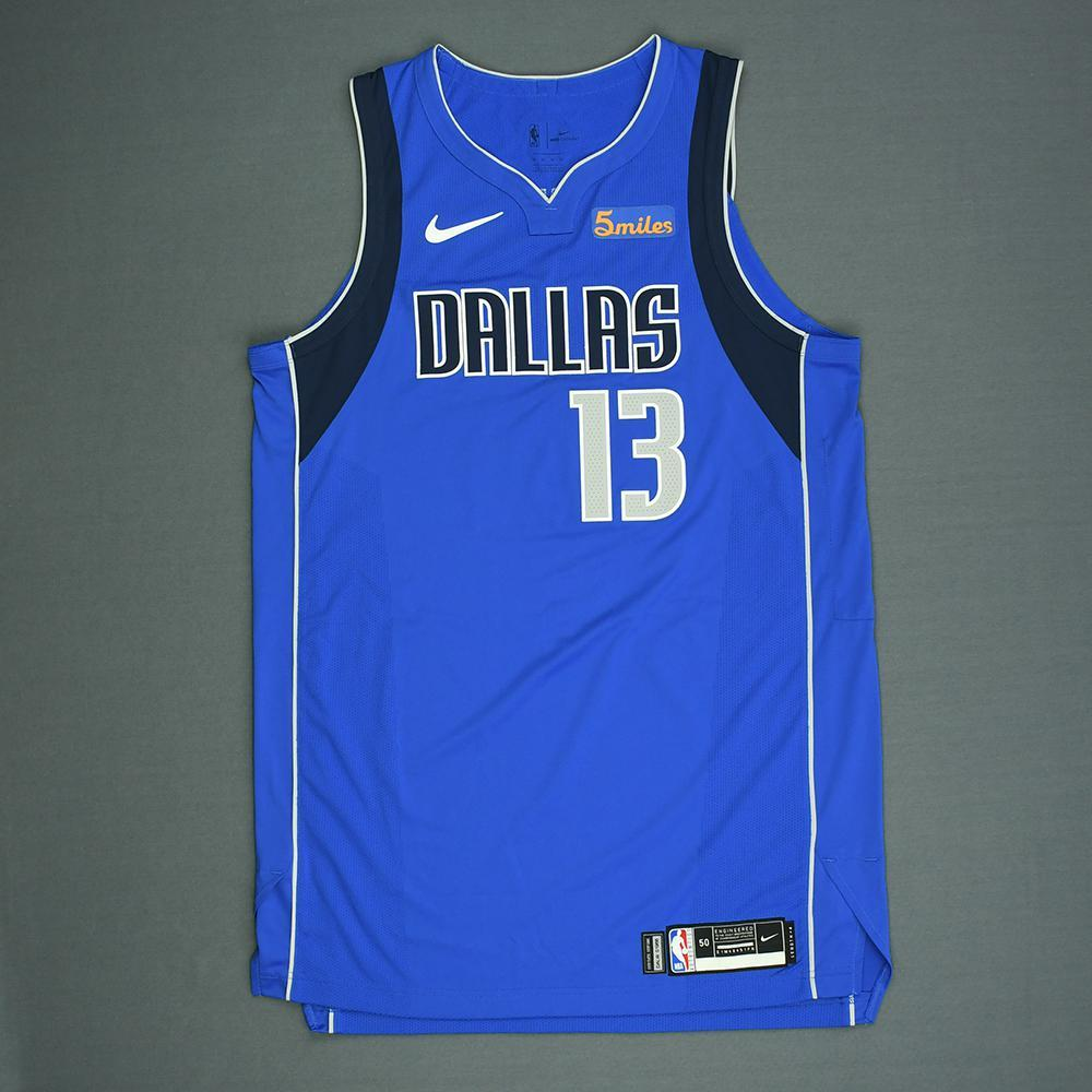 Jalen Brunson - Dallas Mavericks - 2018 NBA Draft - Autographed Jersey
