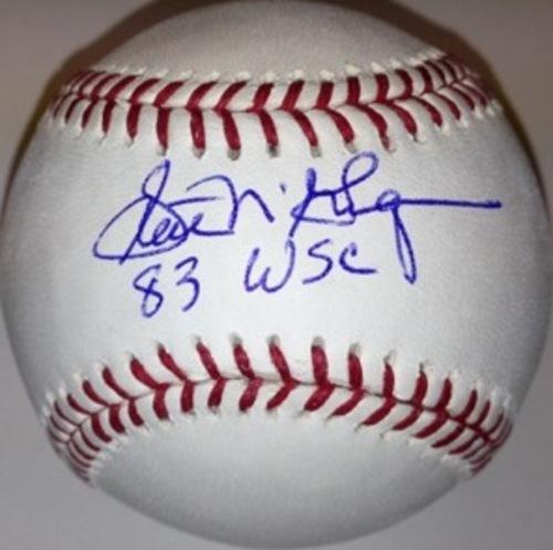 Scott McGregor Autographed