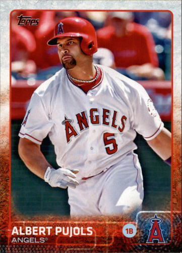 Photo of 2015 Topps #600 Albert Pujols