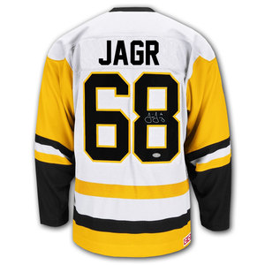 Jaromir Jagr Pittsburgh Penguins CCM Home Autographed Jersey