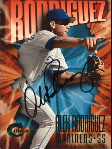 Photo of 1997 Circa Emerald Autographs #100 Alex Rodriguez