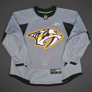 Seth Jones - Nashville Predators - 2014-15 Practice-Worn Jersey