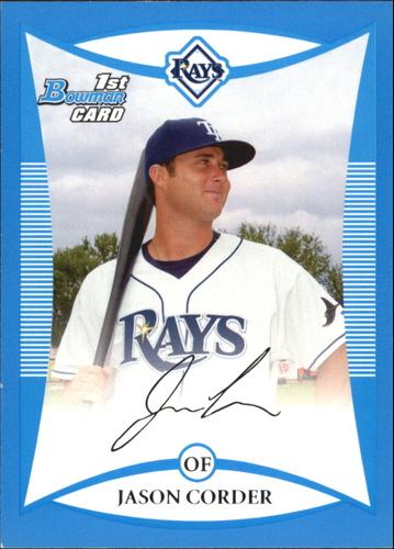 Photo of 2008 Bowman Draft Prospects Blue #BDPP43 Jason Corder DP