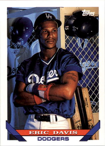 Photo of 1993 Topps #745 Eric Davis
