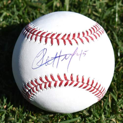 Jharel Cotton Autographed Baseball