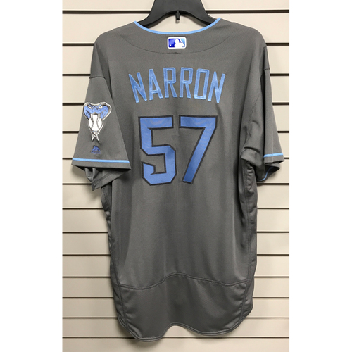 Photo of Jerry Narron Game-Used 2017 Father's Day Jersey