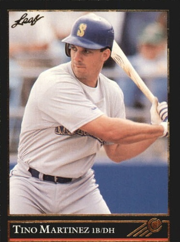 Photo of 1992 Leaf Black Gold #329 Tino Martinez