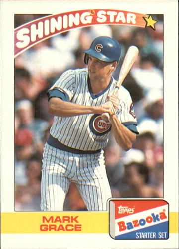 Photo of 1989 Bazooka #12 Mark Grace