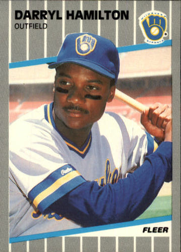 Photo of 1989 Fleer #187 Darryl Hamilton RC
