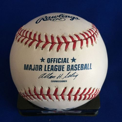 Photo of UMPS CARE AUCTION: John Smoltz Signed Baseball