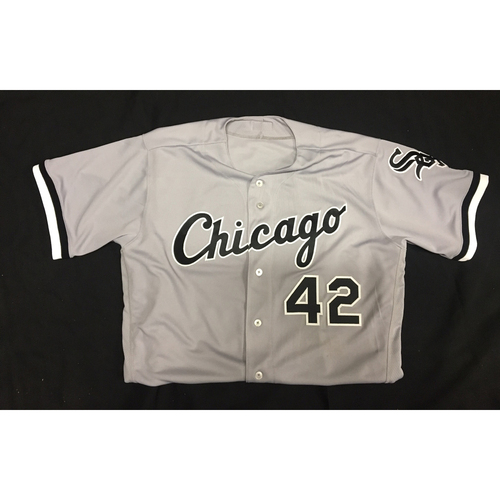 Photo of Tommy Kahnle Game-Used 2017 #42 Jersey