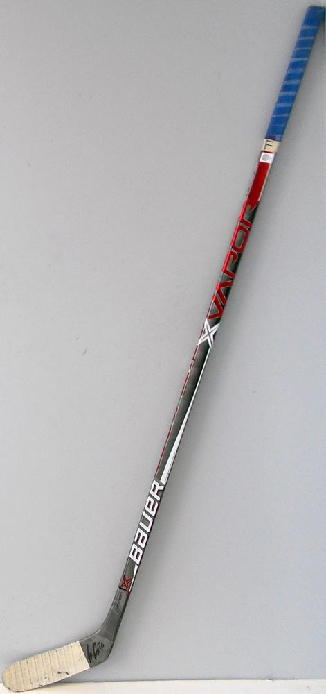 #26 IiroPakarinen Game Used Stick - Autographed - Edmonton Oilers
